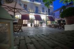 giardino ristorante hotel victoria
